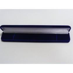 Zamatová krabička obdĺžnik modrá F-37B/A14