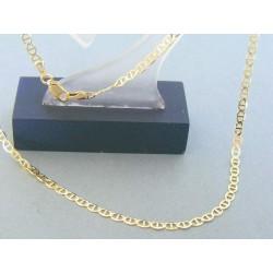 Zlatá retiazka žlté zlato oválne očká  DR455420Z 14 karátov 585/1000 4.20g