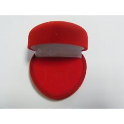 Zamatová krabička srdiečko červené F-7/A7/A7