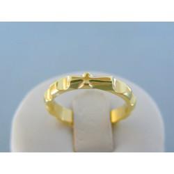 Zlatý prsteň ruženec žlté zlato VP56418Z 14 karátov 585/1000 4.18g
