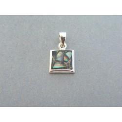 Strieborný prívesok dámsky kameň opál DIS079 925/1000 0.79g