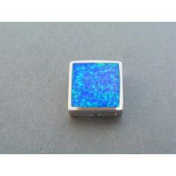 Strieborný dámsky prívesok kameň opál DIS306 925/1000 3.06g