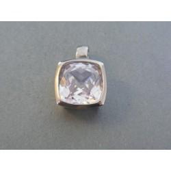 Ch. oceľ prívesok dámsky kameň DIO799 316L 7.99g