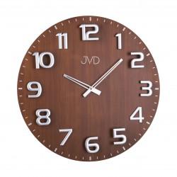Designové drevené hodiny JVD HT075.2