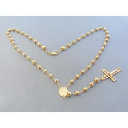 Zlatá retiazka ruženec žlté zlato VR441419Z 14 karátov 585/1000 14.19g