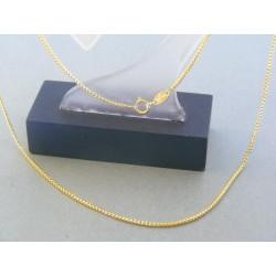 ZZlatá retiazka žlté zlato očká DR445352Z 14 karátov 585/1000 3.52g