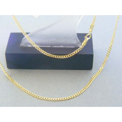 Zlatá retiazka žlté zlato vzor pancier DR45200Z 14 karátov 585/1000 2.00g