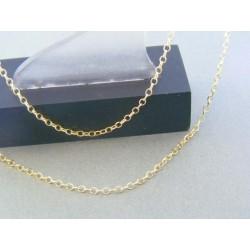 Zlatá retiazka očká žlté zlato DR45197Z 14 karátov 585/1000 1.97g