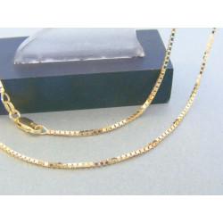 Zlatá retiazka žlté zlato očká sú v sebe žlté zlato DR50605Z 14 karátov 585/1000 6.05g