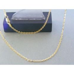 Zlatá retiazka ručný vzor žlté zlato VR555427Z 14 karátov 585/1000 4.27g