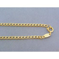 Zlatá retiazka žlté zlato vzor pancier VR50200Z 14 karátov 585/1000 2.00g