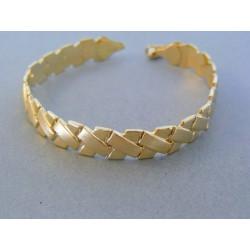 Zlatý dámsky náramok elegantný žlté zlato DN18727Z 14 karátov 585/1000 7.27g