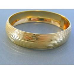 Zlatý dámsky náramok pevný žlté zlato DN843Z 14 karátov 585/1000 8.43g
