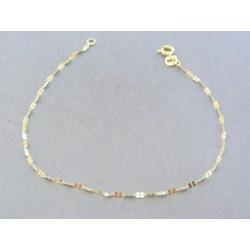 Zlatý dámsky náramok žlté zlato zdobený VDN18055Z 14 karátov 585/1000 0.55g