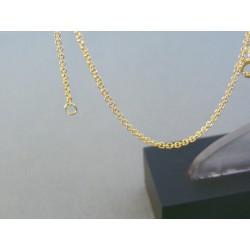 Zlatý náramok ručný vzor žlté zlato VN20131Z 14 karátov 585/1000 1.31g