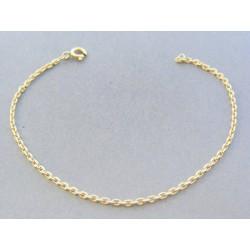 Zlatý náramok ručný vzor žlté zlato VN19261Z 14 karátov 585/1000 2.61g