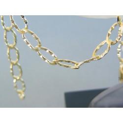 Zlatý náramok zdobený očká žlté zlato VN19516Z 14 karátov 585/1000 5.16g