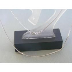 Zlatá retiazka biele zlato očká DR395278B 14 karátov 585/1000 2.78g