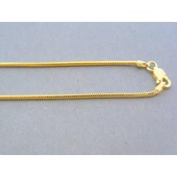 Zlatá retiazka žlté zlato vzor lanko DR45300Z 14 karátov 585/1000 3.00g