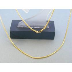 Zlatá retiazka žlté zlato vzor lánko DR50435Z 14 karátov 585/1000 4.35g