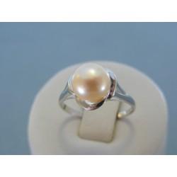 Strieborný dámsky prsteň perla DPS58231 925/1000 2.31g