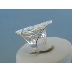 Strieborný dámsky prsteň vzorovaný DPS52288 925/1000 2.88g