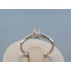 Strieborný dámsky prsteň zirkón v korunke DPS56206 925/1000 2.06g