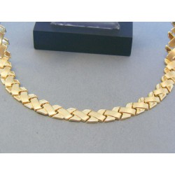 Zlatá dámska retiazka náhrdelnik žlté zlato DR481950Z 14 karátov 585/1000 19.50g