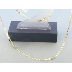 Zlatá retiazka platničky žlté zlato DR415221Z 14 karátov 585/1000 2.21g