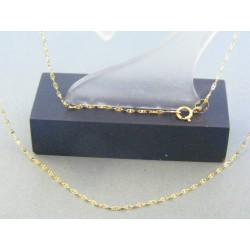 Zlatá retiazka žlté zlato očká DR45111Z 14 karátov 585/1000 1.11g