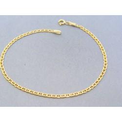 Zlatý náramok oválne očká žlté zlato DN205134Z 14 karátov 585/1000 1.34g
