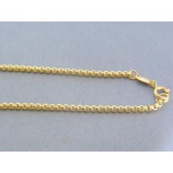 Zlatá retiazka žlté zlato očká VR45296Z 14 karátov 585/1000 2.96g