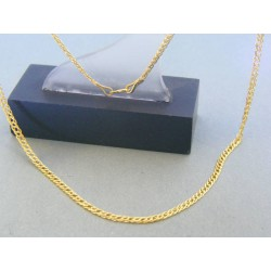 Zlatá retiazka žlté zlato dvojité očká VR445167Z 14 karátov 585/1000 1.67g