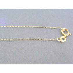 Zlatá retiazka žlté zlato ručný vzor VR42069Z 14 karátov 585/1000 0.69g