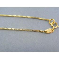 Zlatá retiazka žlté zlato očká VR415191Z 14 karátov 585/1000 1.91g