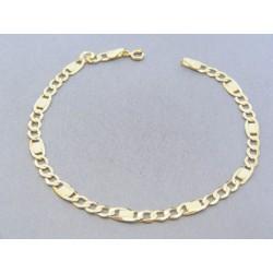 Zlatý náramok vzor figaro VP205189Z 14 karátov 585/1000 1.89g