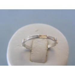 Strieborný prsteň ruženec VPS62130 925/1000 1.30g