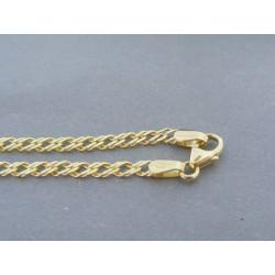 Zlatý náramok vzor rombo VN18265Z 14 karátov 585/1000 2.65g
