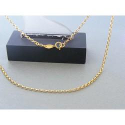 Zlatá retiazka ručný vzor žlté zlato DR45178 14 karátov 585/1000 1,78g