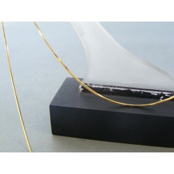 Zlatá dámska retiazka lanko žlté zlato DR45233Z 14 karátov 585/1000 2,33g