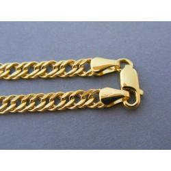 Zlatá pánska retiazka vzor rombo žlté zlato DR611074Z 14 karátov 585/1000 10,74g