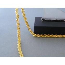 Zlatá dámska retiazka točená žlté zlato DR60710Z 14 karátov 585/1000 7,10g