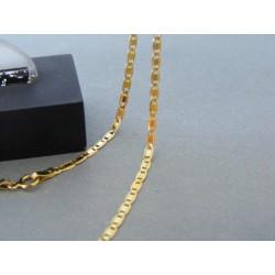 Zlatá retiazka vzor valentína žlté zlato DR495328Z 14 karátov 585/1000 3,28g
