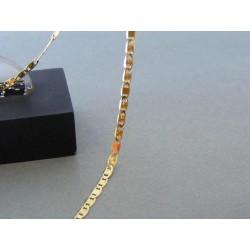 Zlatá retiazka vzor valentina žlté zlato DR45326Z 14 karátov 585/1000 3,26g