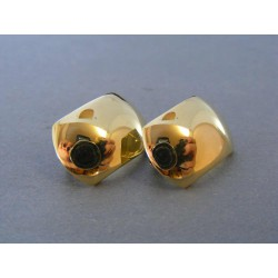 Zlaté dámske náušnice žlté zlato DA337Z 14 karátov 585/1000 3,37g