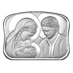 Strieborný obraz svätá rodina VO6566/2+