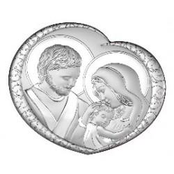Strieborný obraz svätá rodina VO6562/2
