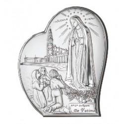 Strieborný obraz Panna Mária s deťmi VOM810561L2S