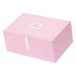 Pamätný box ružový
