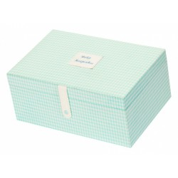 Pamätný box modrý
